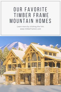 Mountain homes are amongst the top design choices for today's new home buyers. Here are our top 5 timber frame Mountain Homes. mountain Five Timber Frame Mountain Homes You'll Dream About Timber Frame Home Plans, Timber Frame Homes, Timber Frames, Mountain House Plans, Mountain Homes, Mansions For Sale, Mansions Homes, Mansion Interior, Mansion Bedroom