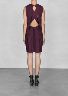 Layered open-back dress | Layered open-back dress | & Other Stories