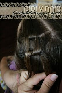 This website has tons of cute little girl hairstyles!