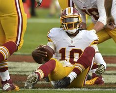 He was destined to save the Redskins. Now the RGIII era appears to be over.