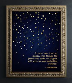 """An art print featuring one of the many wise things said by Albus Dumbledore AKA the greatest wizard who ever lived., DIY and Crafts, 39 Gifts For Anyone Who& Rather Reread """"Harry Potter"""" Than Hang Out With You."""