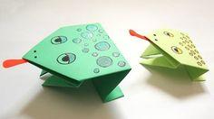 Origami grenouille facile