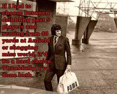 Classic George Best :) #legend