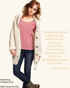 Love that cardigan. And Emma Watson as well, actually ;)
