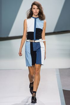 See all the Collection photos from Phillip Lim Spring/Summer 2013 Ready-To-Wear now on British Vogue Love Fashion, Fashion Show, Fashion Outfits, Fashion Design, Nyc Fashion, Mondrian Dress, 3.1 Phillip Lim, What To Wear, Ready To Wear