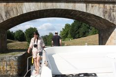 Die erste enge Brücke