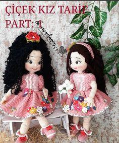 How To Crochet an Amigurumi Rabbit Crochet Doll Pattern, Crochet Dolls, Crochet Patterns, Crochet Hats, Lilly Doll, Happy Week, Beautiful Crochet, Amigurumi Doll, Stuffed Toys Patterns