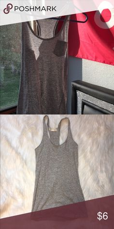 Grey Forever 21 tank top Plain and simple grey tank top Forever 21 Tops Tank Tops