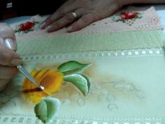 passo a passo de pinturas em tecidos - Pesquisa Google