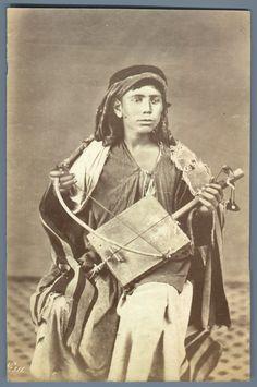 Dumas. Palestine, Jeune Musicien     #Orient #Palestine_Palestina