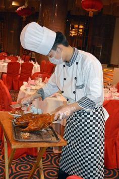 Eat duck in Beijing!