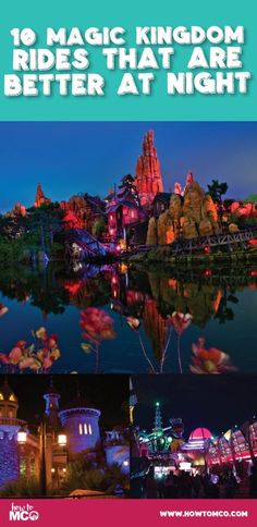 Have you ever noticed that some Disney attractions are just better when you ride them at night? When the sun sets at Walt Disney World a whole new world comes alive throughout the parks. Most noticeably is the Magic Kingdom, each land around the park lights up the night in its own special way. We are going to walk through our favorite rides that we love to ride at nighttime when stopping the Magic Kingdom.
