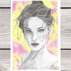 #art #myart #drawing #mydrawing #drawings #graphitedrawing #graphiteart #pencil #crayons #colours #instaarts #women #faces