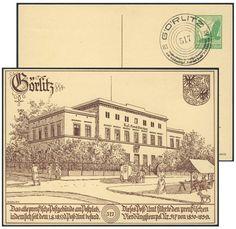 Germany, German Empire, 08.01.1938, Briefmarken-Schau in Görlitz, 5 Pfg.-GA-Privatpostkarte, mit Sonderstempel, ungebr., I (Mi.-Nr.PP142F1). Price Estimate (8/2016): 10 EUR.