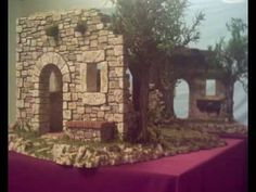 Lili Fouad shared a video Fontanini Nativity, Diy Nativity, Nativity Ornaments, Christmas In Italy, Christmas Manger, Christmas Crafts, Diy Dollhouse, Dollhouse Miniatures, Portal