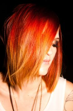 short fire ombre - Google Search