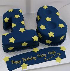 18 figure birthday cake made with vanilla sponge, strawberry jam and vanilla buttercream. Design similar to a picture supplied by Mum of birthday boy. www.cakesbyoccasion.com The Next ModelOf Treat & Dessert Designing!
