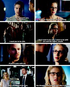 I'd go anywhere with you. #Olicity #Arrow - #1x23 // #2x23 // #3x23 // #4x23