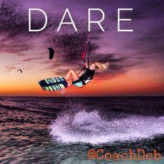 #dream #dare #do  #clouds #kitesurfing #beach #perth #australia #sunset #choose  #coachdeb #inspiration #motivation #winning #wordswagapp