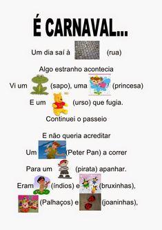 Sempre criança: Carnaval Carnival Activities, Preschool Activities, Professor, Diy And Crafts, Messages, Lettering, Blog, Clowns, School Carnival