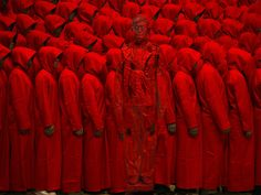 Hiding in the City – Red No. 2, 2012 http://the-opsis.com/art/16/6/2013-the-invisible-mans-gun-rack-performance