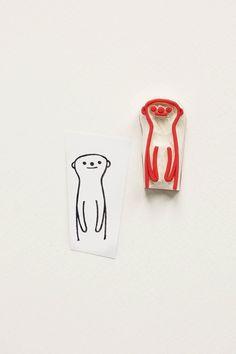 #meerkat #animal #rubber #rubberstamps #stamps #stamp #stamping #carving #eraser #bujo #bullet #journal #kids #funny #cute #gift #woodland #WoodlandTale #peekaboo #scrapbooking #handcarved #hand #carved