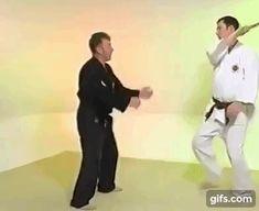 Baton/club defence - Kyushin-ryu jujutsu