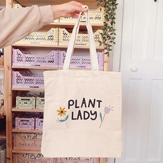 The 'Plant Lady' Tote – junipermoon