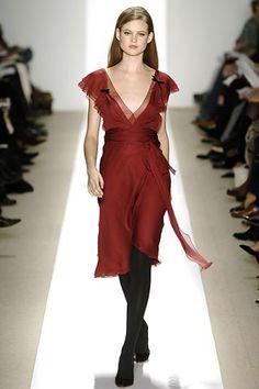 J. Mendel Fall 2006 Ready-to-Wear Fashion Show - Behati Prinsloo