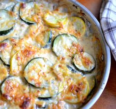 Zucchini and Yellow Squash Au Gratin | Small Town Woman