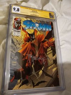 SPAWN #3 CGC 9.8 SS MCFARLANE AUTOGRAPH 1992,NM-Mint! Action Comics 1, Image Comics, Spawn 1, Alamo Drafthouse, Todd Mcfarlane, Amazing Spiderman, Ss, Mint, Ebay
