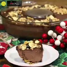 No Sugar Desserts, Cheesecakes, Mousse, Food And Drink, Healthy Eating, Pudding, Sweets, Chocolate, Recipes
