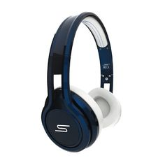 SMS Audio STREET by 50 Cent On Ear Headphones - Blue - Listing price: $179.95 Now: $131.65  #SMSAudio