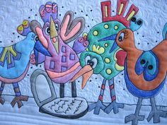 4 Calling Birds by mamacjt, via Flickr