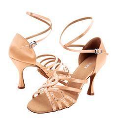 Mercedez Latin Ballroom Shoes SO PRETTY!