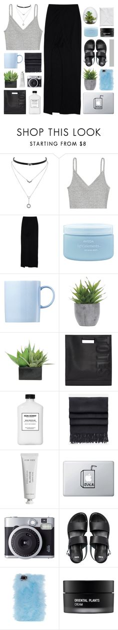 """SYDNEY"" by feels-like-snow-in-september on Polyvore featuring Jessica Simpson, H&M, Helmut by Helmut Lang, Aveda, Rosenthal, Lux-Art Silks, 3.1 Phillip Lim, Ron Dorff, Acne Studios and Byredo"