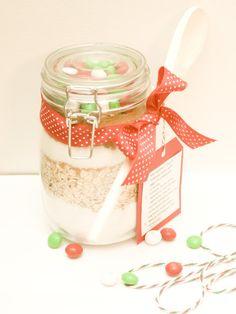 DIY: Cookie Mix Jar | recreative works blog