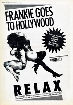 Frankie Goes To Hollywood 'Relax'