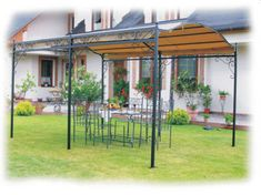 Garten-Pavillon-Eisen-Pergola-Feuerverzinkt-Bern-NEU