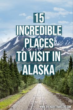 Alaska is remote, it's isolated and it's utterly stunning. While the cities, such as Anchorage and Juneau, have a lot to offer visitors, the best places to visit in Alaska are found in the wilderness. There's so much to do, and to inspire your adventure, here are the best places to visit in Alaska!   #Planyourtrip #Alaska #Travel #Adventure #Vacationideas #PlacestovisitinAlaska #USATravel #AlaskaTravelTips