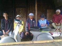 Perjalanan melelahkan menuju kelompok tani Talago Rai  Kecamatan Sei Pua