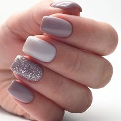 Discover new and inspirational nail art for your short nail designs. Learn with step by step instructions and recreate these designs in your very own home. Square Nail Designs, Short Nail Designs, Acrylic Nail Designs, Nail Art Designs, Nail Designs Spring, Nails Design, Natural Nail Designs, Glitter Gel Nails, Cute Acrylic Nails