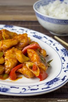 juicy chicken in sweet and sour sauce Easy Asian Recipes, Ethnic Recipes, Easy Cooking, Cooking Recipes, Pork Stir Fry, Sweet N Sour Chicken, Chicken Asparagus, Fried Pork, Food Categories