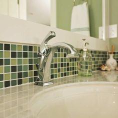 Koupelna - zelená - fotogalerie a inspirace | FAVI.cz