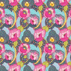 2e989d99f12 Stof France Hawaii Knit - Peek-a-Boo Pattern Shop Knitted Fabric, Hawaii