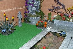 dollhouse garden