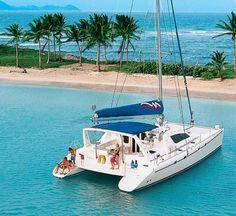 Bareboat Charter & Sailing Vacations - the BVI Ocean Sailing, Sailing Catamaran, Sailing Trips, Yacht Boat, Catamaran Design, Turks And Caicos Vacation, Boating Tips, Yacht Week, Cool Boats