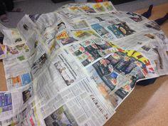 Sanomalehdistä iso peitto