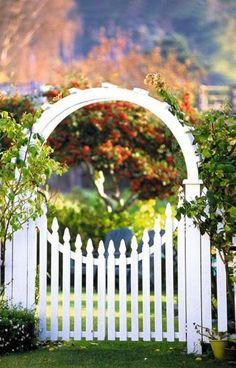 Perfect garden gate / idealna brama ogrodowa
