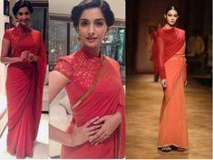 Photos: 40 Sonam Kapoor saree styles that prove she is a fashionista   PINKVILLA